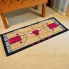 large basketball court runner area rug