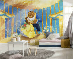 368x254cm Wall Mural Wallpaper Disney Character Beauty And The Beast Kids Room For Sale Online