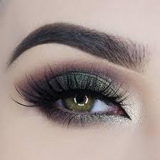 smokey eyes for green eyes makeup