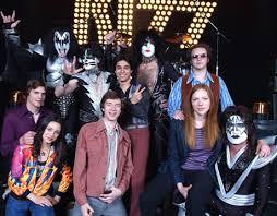 吻乐队 kiss that 70 s 显示 cast