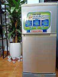 Tủ lạnh Toshiba 100L 2 ngăn quạt gió... - Shop Đồ Cũ Thượng Cát