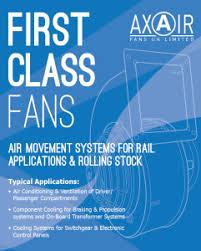 industrial fans for railway rolling roads
