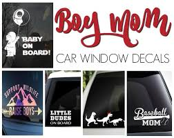 Proud Boy Mom Car Decals Mom Vs The Boys