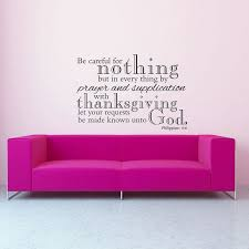 Philippians 4 6 Christian Wall Decal Divine Walls
