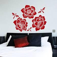 Shop Flower Rose Butterfly Blossom Stickers Vinyl Sticker Art Mural Bedroom Kids Room Decor Sticker Decal Size 48x57 Color Black On Sale Overstock 14757951
