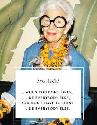 we re taking iris apfel s best style advice into iris apfel
