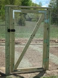 Handmade Garden Gate Fenced Vegetable Garden Diy Garden Fence Garden Gates And Fencing