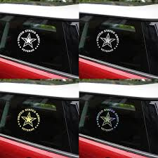 Us Army Veteran Car Decal Aspire Gear