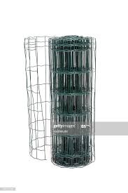 Green Wire Fence Roll High Res Stock Photo Getty Images