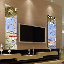 21pcs 3d Self Adhesive Removable Modern Decorative Acrylic Wall Mirror Tile Decal Art Mural Wall Sticker Home Room Decor Diy Diy 24 24inch Walmart Com Walmart Com