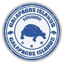 Ecuador Galapagos Islands Grunge Stamp Car Bumper Sticker Etsy