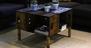 get inspired diy wooden crate coffee table