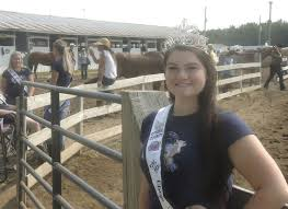 Abby Moore not just horsing around as Fair Queen | Top-gallery ...