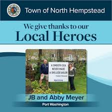 Our next local heroes are JB and Abby... - Town of North Hempstead -  Government | Facebook