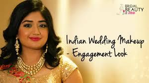 indian wedding makeup enement look