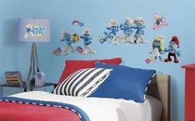 30 New The Smurfs 2 Movie Wall Decals Kids Bedroom Stickers Toy Room Decor On Popscreen