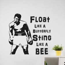 Any Boxing Fan Will Love This Muhammad Ali Wall Decal
