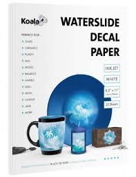 Inkjet Waterslide Decal Paper By Koala Paper