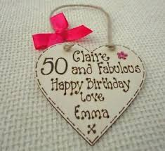 50th birthday gifts novelty wooden sign