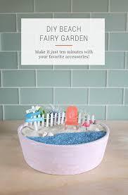 diy beach fairy garden tutorial