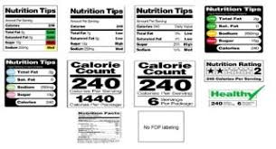 replace misleading food labels