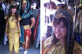 geisha costume hair and
