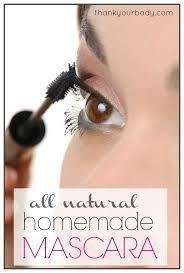 homemade mascara all natural and eye