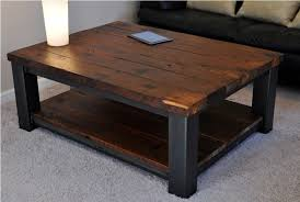 coffee table legs for rustic table