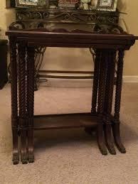 duncan phyfe nesting tables