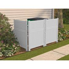 Suncast 36 25 In W X 48 In H Reversible Resin Screen Enclosure Bmpf4836d The Screen Enclosures Outdoor Screens Outdoor Trash Cans