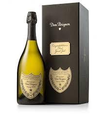 dom perignon with personalized gift box