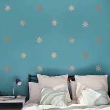 25 Silver Metallic Coronata Star Wall Decals Rub These Lovely Metallic Silver 8 Point Stars On Your Wall Wall Decals For Bedroom Vinyl Wall Decals Wall Decals