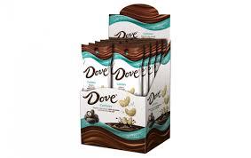 dove cashews dipped in milk chocolate