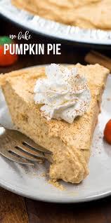 no bake pumpkin pie crazy for crust