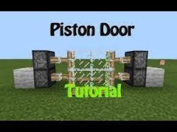 glass doors tutorial in mcpe