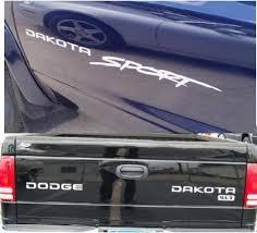 Dodge Dakota Sport Decal Sticker Kit Dodge Many Colors