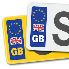 Pair Gb Car Number Plate Stickers With Uk Flag Eu European Vinyl Sticker Decal Archives Statelegals Staradvertiser Com