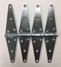 Amazon Com Abs 4 Pack Of 12 Inch Strap Hinges Heavy Duty Zinc Plated Hardware Door Fence Barn Gate Automotive
