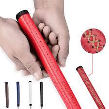 1pcs pu leather golf putter grip shock