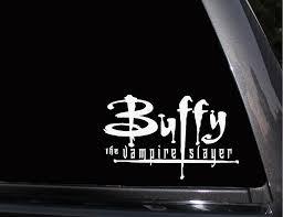 Buffy The Vampire Slayer Vinyl Decal Phone Decal Laptop Decal Wall Decal Car Decal Buffy Buffy The Vampire Slayer Vampire Slayer