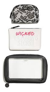 kit c 3 necessaire bolsa makeup bag