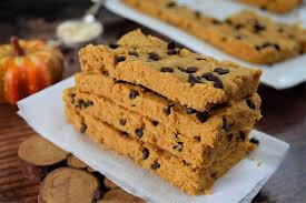 low carb chocolate chip pumpkin protein