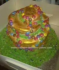 coolest topsy turvy birthday cake