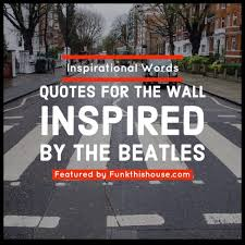 Beatles Wall Decals For Themed Music Spaces Or Daily Inspiration