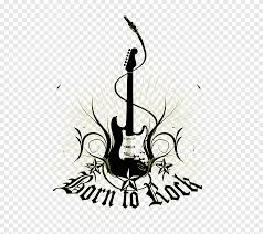 Rock Music Wall Decal Sticker Guitar Colors Material Png Pngegg