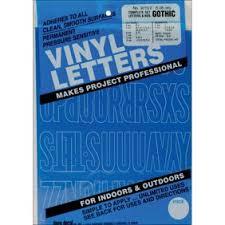 Duro Decal Permanent Adhesive Vinyl Letters Amp Numbers 2 Gothic White Walmart Com Walmart Com