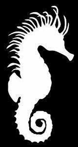 Seahorse Vinyl Decal Sticker Car Window Wall Bumper Fish Animal Sea Horse Cute Ebay