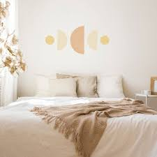 Moon Phases Abstract Geometic Wall Stickers Plastic Free And Removable Made Of Sundays