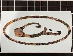 Drake Waterfowl Systems Die Cut Logo Decal Window Sticker 5 New Bottomland Camo Decals Stickers