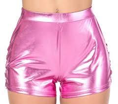 high waist j2 love faux leather shorts